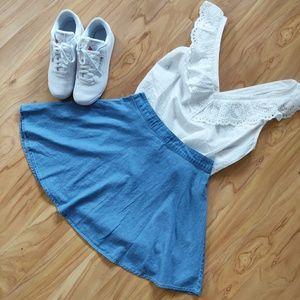 Forever 21 | Denim Circle Mini Skirt